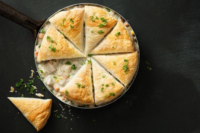 17 minute chicken pot pie